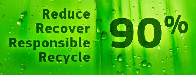Reduce, Recover, Responsible, Recycle