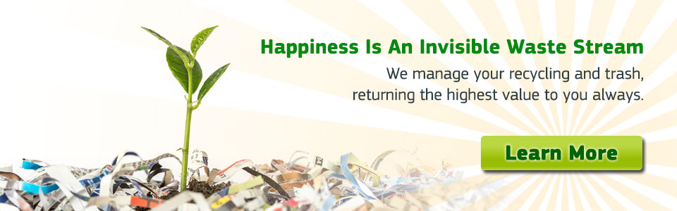 Happiness is an Invisible Waste Stream